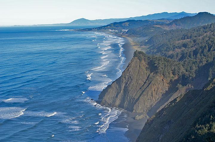 Gold Beach Oregon From Cape Sebastian