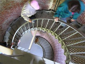 Cape Blanco Lighthouse steps