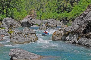 Paddling the Chetco River